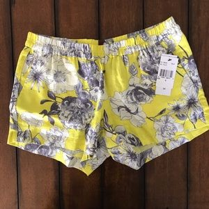 Kut From The Kloth: Janson Printed Linen Short NWT